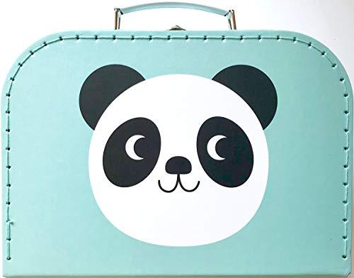 Rex London Koffer/Kinderkoffer/Puppenkoffer. Pappkoffer, 3 Verschiedene Größen. (Panda-Katze-Hase, L)