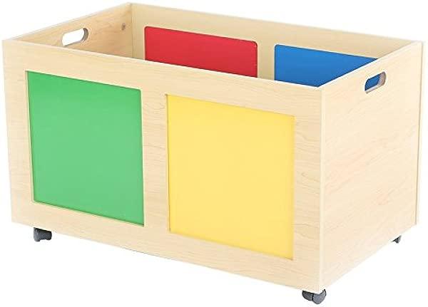 Tot Tutors TB895 Primary Focus Rolling Toy Box