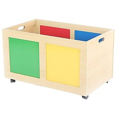 Tot Tutors Primary Focus Rolling Toy Box