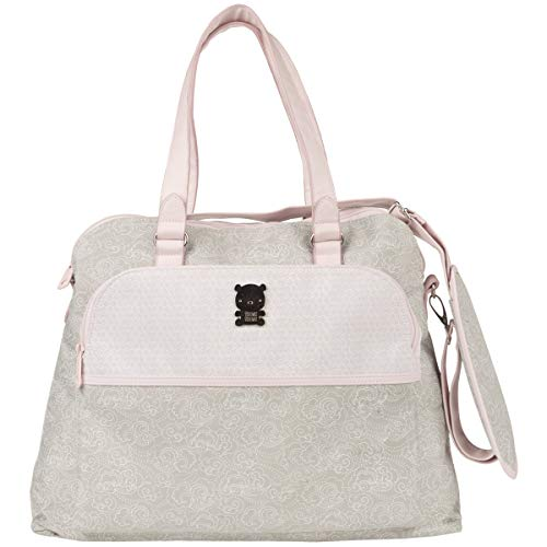Tuc Tuc 07723 - Bolsa maternidad y cambiador, color caramel/rosa