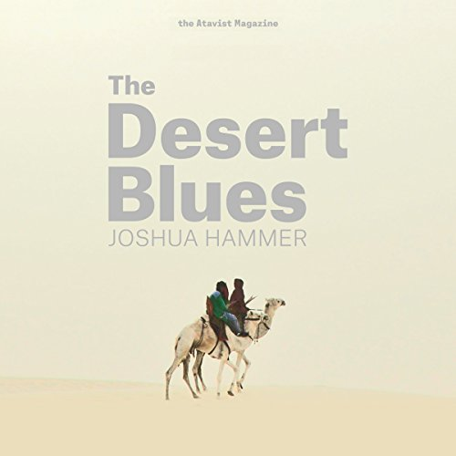 The Desert Blues  audiobook cover art