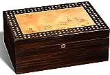 PANGPANGDEDIAN Caja de hidratante Cedar Madera gabinete de cigarro, Caja de Almacenamiento de Cedro Alineado Caja Decorativa