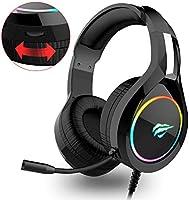 havit RGB bedrade Gaming Headset PC USB 3.5mm XBOX / PS4 Headsets, met 50MM Driver Surround Sound & Ruisonderdrukking...