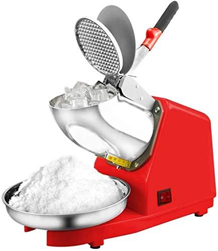 Tritaghiaccio, Commerciale Elettrico Ghiaccio Rasoio Rasoio, Neve Cono Macchina, Latte Tea Shop Smoothie Machine, Ice Doppio Lama Crusher, for Uso Domestico e Uso Commerciale