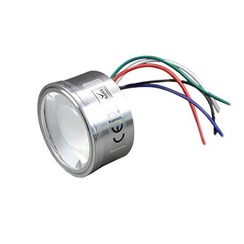 Preisvergleich Produktbild LED RGBWW RGBW Einbaustrahler 12V 4W Farbwechsel und warmweiß Kabelspot mit 5poligem Anschluss passend in Gu10 und Gu5, 3 Mr16 Fassungen universell steuerbar