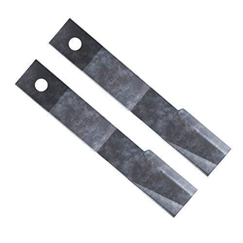 Replacement Bush Hog Rotary Cutter Blades – Part Number 7555, 24''x3/4'' Rancher Supply Blades and Compatible Rotary Replacement Blades for Brush Mowers (2 Blade Set)