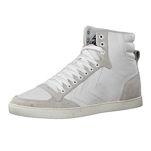 Hummel Unisex Slimmer Stadil Tonal HIGH Sneaker, Weiß (White), 42 EU