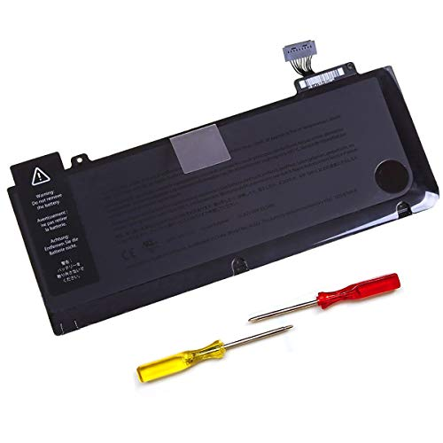 10.95 V 63.5Wh Battery Replace for Apple MacBook Pro 13 Inch Unibody A1322 A1278 (2009-2010-2011- 2012 Version)