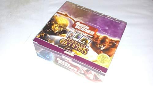 Box 36 Booster Cards Battle Scenes Poderes Ocultos Copag SUIKA