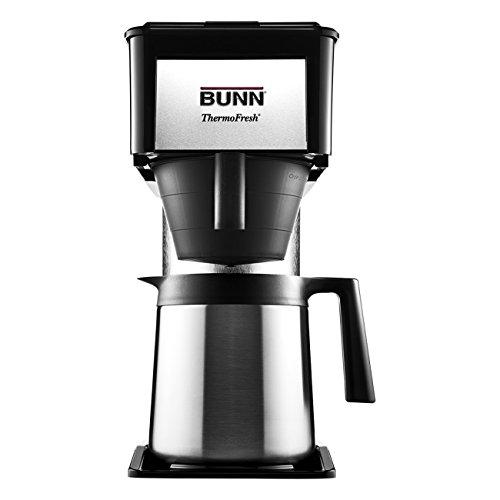 BUNN BT BT Speed Brew 10-Cup Thermal Carafe Home Coffee Brewer, Black