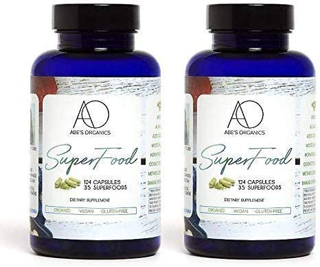 High order Organic Green Superfood Capsules 2pk Max 76% OFF Energy A Focus Promotes