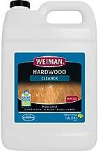 Weiman Hardwood Floor Cleaner - 128 Ounce Refill - Finished Engineered Hardwood Floors