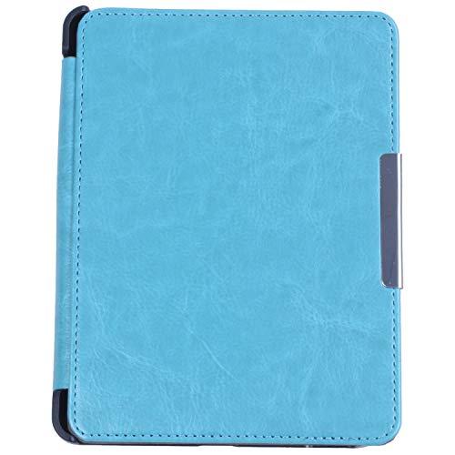 """Huante - Custodia per KOBO GLO HD da 6"""" eReader magnetico per auto Sleep Cover ultra sottile Hard Shell (azzurro)"""