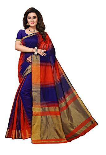 Indian bollywood wedding saree indisch Ethnic hochzeit sari new kleid damen casual tuch birthday crop top mädchen women plain traditional party wear readymade Kostüm (Orange)