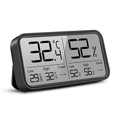 Termómetro higrómetro digital Medidor de Temperatura...