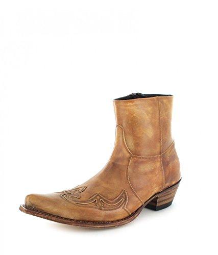 Sendra Boots 7783 Olimpia 023 Stiefelette für Damen und Herren Braun Westernstiefelette, Groesse:45