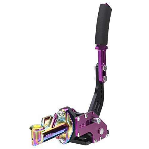 QXJTX Autoreparaturwartung Universal Vertikale Rennsport-Escort-Rallye E-Braking Drift Hydraulische Handbremse Hydro-Handbremse (Color : Purple)