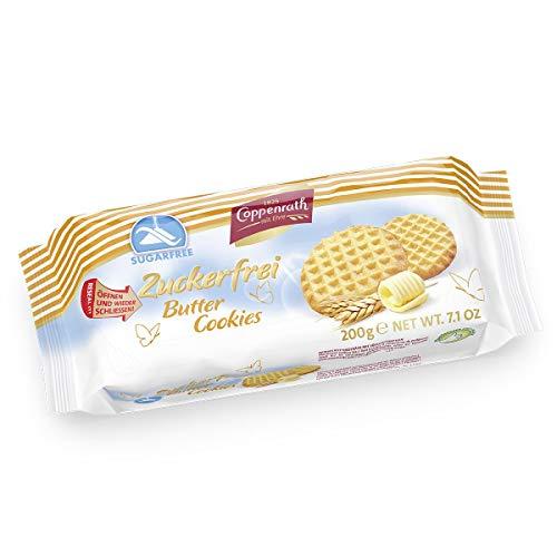 Coppenrath BUTTER COOKIES Suikervrij 7 x 200 gram