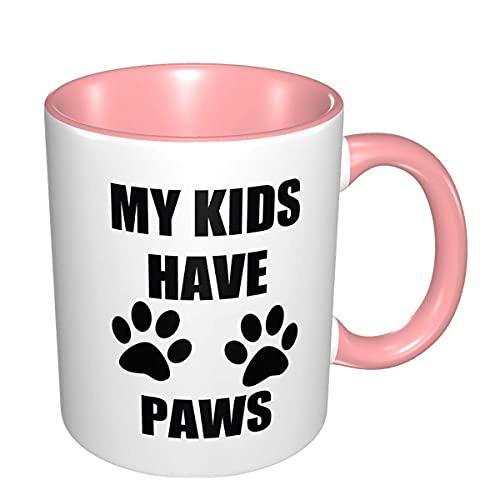 N\A Mis niños Tienen Patas Diseñado cerámica Taza de té Copa 11 Oz
