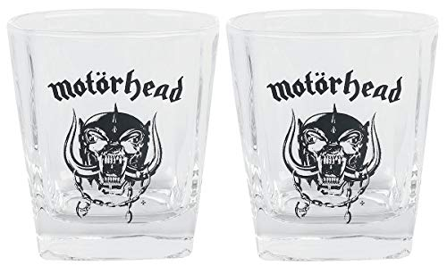 Motörhead Whiskeygläser 2er Set Top Rar fanseller