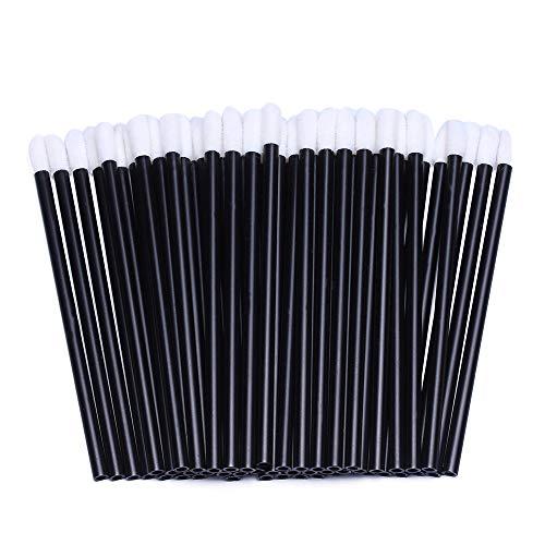 200 pinceles desechables para colocar brillo de labios, aplicadores estilo varita mágica