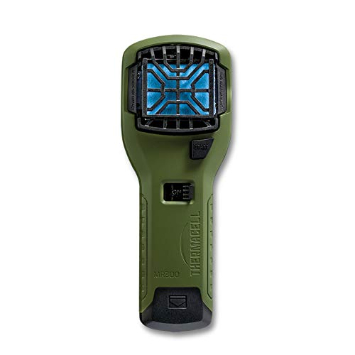 Thermacell MR300 Répulsif anti-moustiques portable 4,5 m Zone de protection 12 heures de soulagement sans moustiques inclus Sans DEET ni spray Vert olive Taille unique