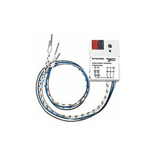 Eunea - mtn670802 interface de pulsador de 2 elementos Ref. 6543000088