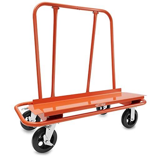 GypTool Heavy Duty Drywall Sheet Cart & Panel Dolly - Orange