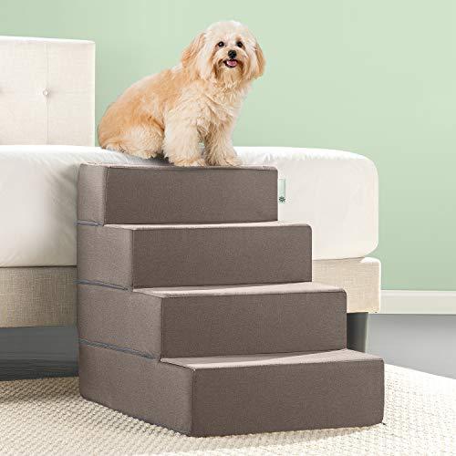 Zinus Easy Pet Treppenrampe/Haustierleiter, XL, Sandfarben