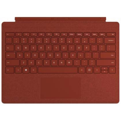 Microsoft Surface Pro Type Cover (QWERTZ Keyboard) mohnrot