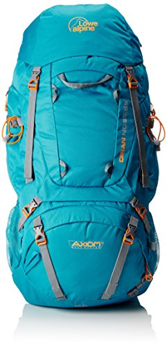 Lowe Alpine Damen Rucksack Diran ND55:65, Sea Blue, 71 x 36 x 29 cm