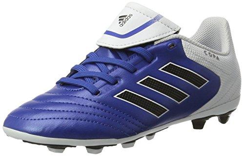 Adidas Copa 17.4 Fxg J Botas de Fútbol para Niños/Adolescentes, Multicolor (Azul/Negro), 38 EU