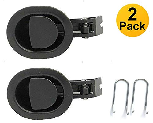 Lanyarco 2 Pack Metal Replacement Parts Recliner Handle Chair Release Lever (6mm)