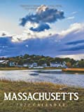 "Massachusetts 2022 Calendar: From January 2022 to December 2022 - Super Mini Calendar 6x8"" - Pocket Gorgeous Non-Glossy Paper"