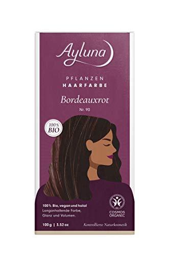 Ayluna Pflanzenhaarfarbe 90 Bordeauxrot