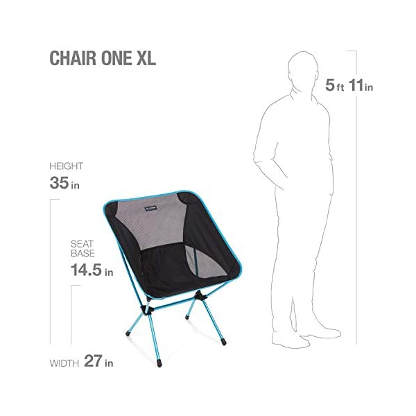 Helinox Chair One XL | A roomier version of Helinox's original, the XL delivers expanded comfort with refined design and…