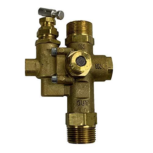 Gas Air Compressor Unloader Check Valve Combo 145-175 PSI 3/4' Inlet & Outlet