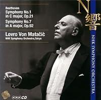 ベートーヴェン:交響曲第1番&第7番 by マタチッチ(ロヴロ・フォン) (2008-12-09)