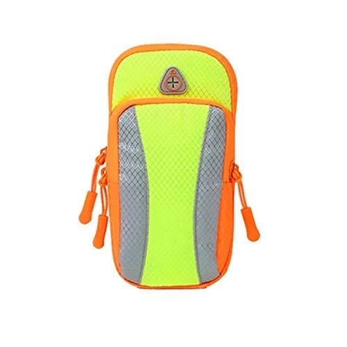 Gym Bags Bolsa de deporte con brazo para correr, para hombres y mujeres, para deportes de fitness, para teléfono móvil, bolsa de muñeca, monedero para deportes (color: B, tamaño: 17 x 9 cm)