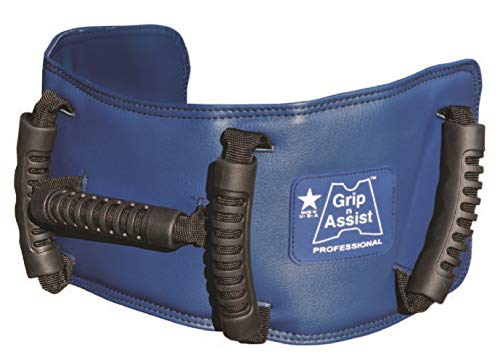 Gladbelt Grip-N-Assist Transfer Gait Belt with Handles - Physical Therapy & Medical Nursing - Assist Safety Belt for Elderly, Patient Transfer, Walking, Fall Prevention - Made in USA - 30 to 44 Inches