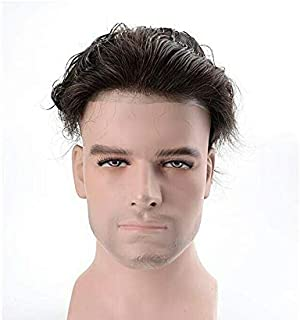 Fraser Hair 0.03 mm Ultra Thin Skin All V loop Poly 10/8 Color 1B Natural Indian Black.
