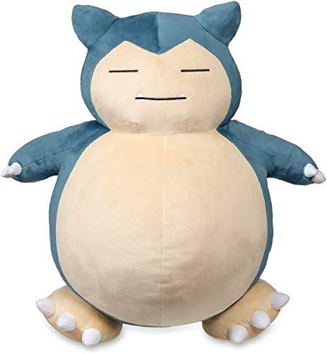 MAKKA Jumbo Snorlax Plush Toy, Pokemon Center Kabigon Plush Toy Soft Doll Figure Pillow Kids Gift (30cm)