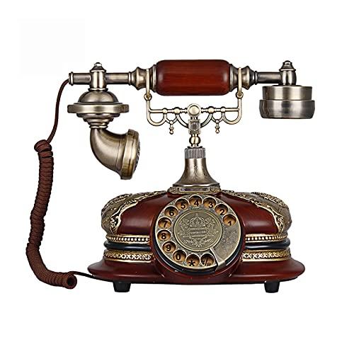 BTMING Teléfonos Antiguos de MEADYY TELÉFONO Antiguo Teléfonos de Escritorio Antiguos Teléfonos de teléfono Fijo Antiguo clásico Teléfonos Retro para Regalo