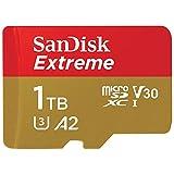 SanDisk (サンディスク) 1TB Extreme microSDXC A2 SDSQXA1-1T00-GN6MN SD変換アダプターなし[ 海外パッケージ ]