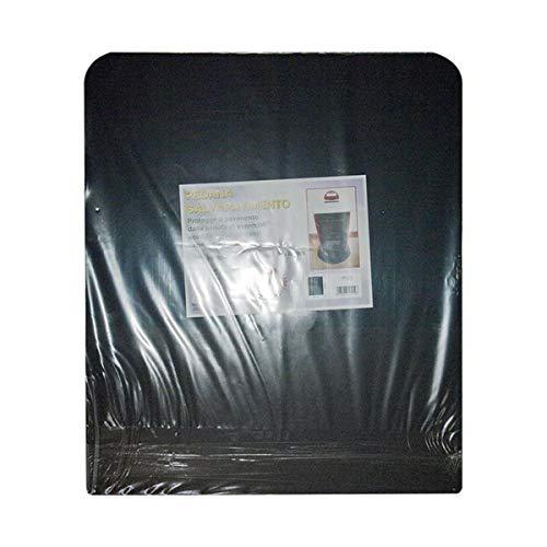 MBM Plaque de protection pour poêle à bois et à granulés 60x70cm