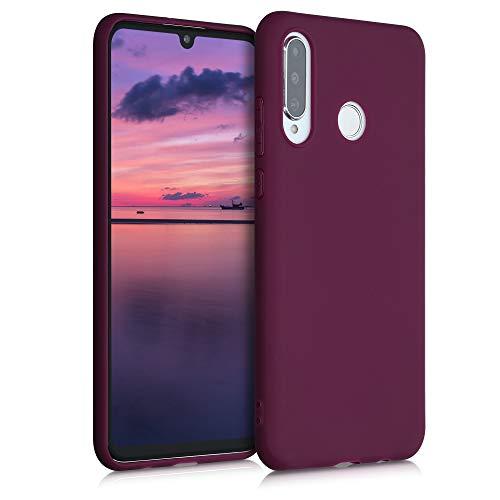 kwmobile Hülle für Huawei P30 Lite - Handyhülle - Handy Hülle in Bordeaux Violett