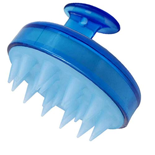 LAANCOO Pelo del Cuero cabelludo masajeador Champú BrSold byush de Silicona Suave Peine del Cuero cabelludo Profundo Cuidado de Pelo de Limpieza para el día Hombres Mujeres Kidsfor de San Valentín de