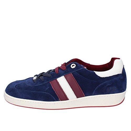D'Acquasparta Sneakers Herren Wildleder blau 39 EU
