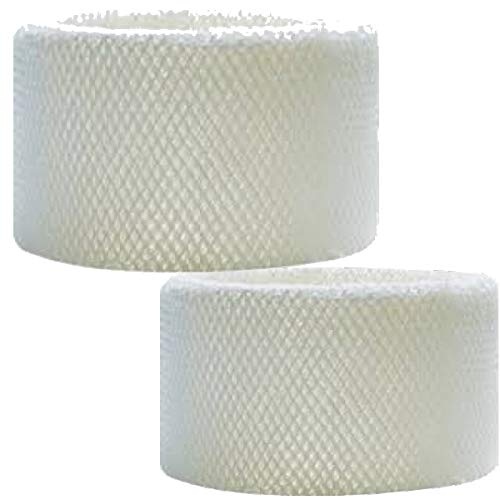 Juego de 2 filtros humidificadores para AIR-O-SWISS BonECO/A7018 E2441A, color blanco