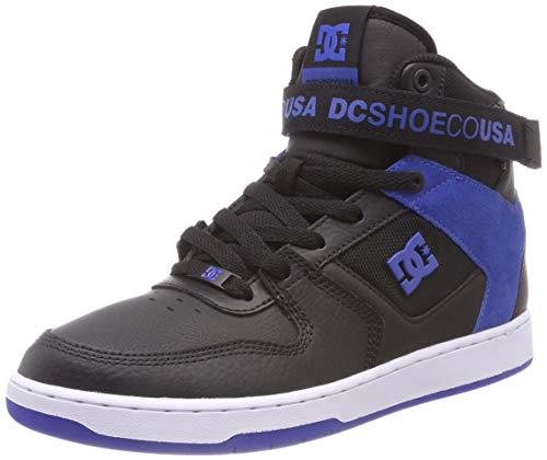 DC Shoes Pensford, Zapatillas de Skateboard Hombre, Azul (Black/Blue/White-Combo Xkbw), 44 EU